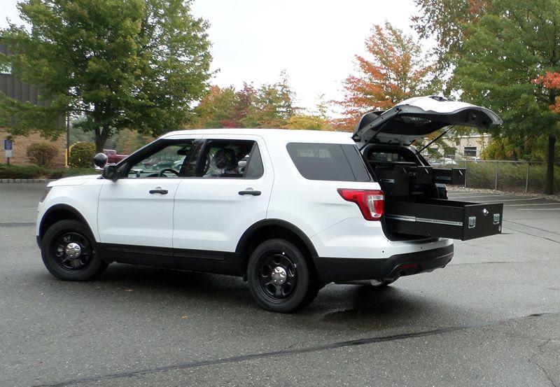 Police car undercover license plate frame holder tag