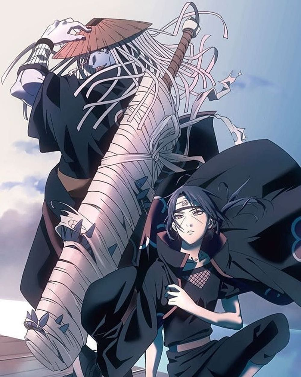 Itachi Or Kisame Follow Officials Itachi For More Dm Me For Sponsor Promotion Credit Goes To Naruto Personagens Naruto Shippuden Super Anime