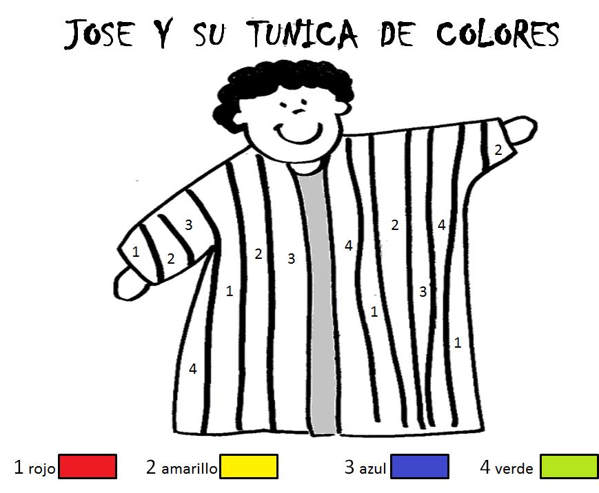 Guia Jose Y Su Tunica De Colores Manualidades Biblicas Escuela Dominical Para Ninos Clase Dominical Para Ninos