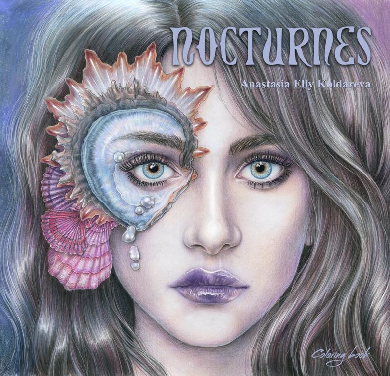 New Nocturnes by Anastasia Koldareva Nocturne, Coloring