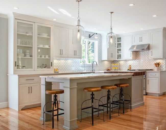 Best Modern Farmhouse Kitchens For Gorgeous Fixer Upper Style 400 x 300