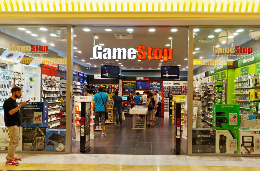GameStop is the world's largest game retailer store, Now
