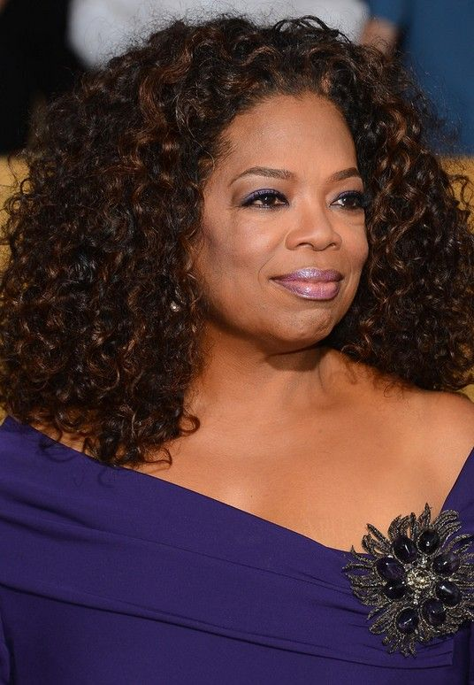 Curly Hairstyle Shoulder Length : Oprah winfrey latest shoulder length curly hairstyle for black