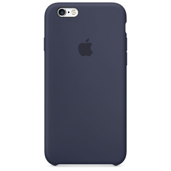 The Charcoal Gray Silicone Case for iPhone 6s protects and