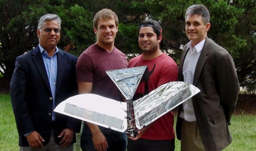 solarpowered robotic raven takes flight at the university