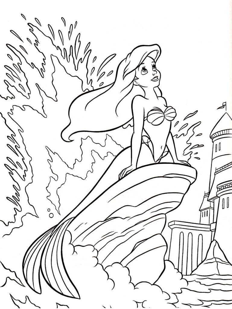 Disney Princess Coloring Pages Disegni Da Colorare Disegni E Disney