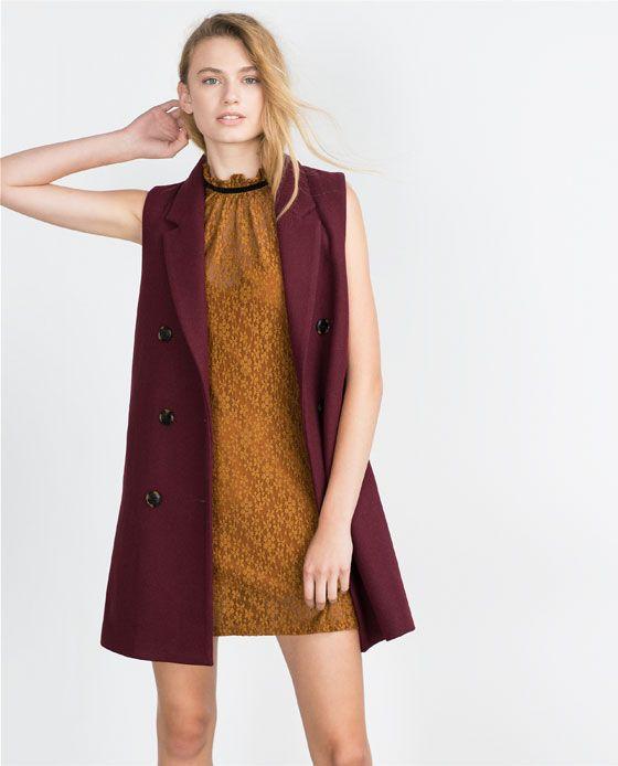 Zara Mujer Vestido Encaje Moda Vestidos De Encaje