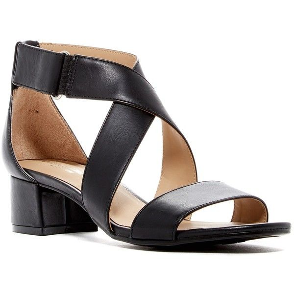 031e22868c9d Naturalizer Adele Heeled Sandal - Wide Width Available ( 40) ❤ liked on  Polyvore featuring shoes