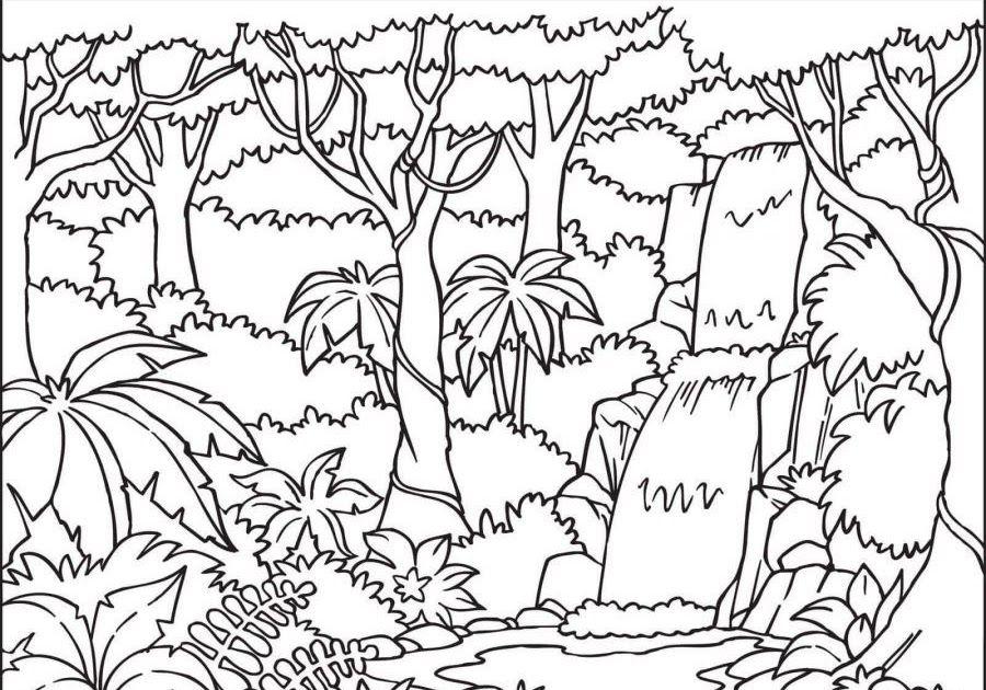 28 Lukisan Pemandangan Alam Yang Belum Diwarnai 200 Gambar Mewarnai Yang Bagus Mudah Untuk Anak Anak Download Mew Di 2020 Gambar Hewan Lembar Mewarnai Pemandangan