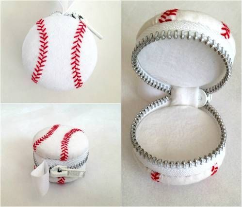 Take a Baseball Coin Purse out to the Ballgame - CRAFTSTER CRAFT CHALLENGES  Craft Challenges, Holiday crafts, Knitting, sewing, crochet, tutorials, children crafts, jewlery, needlework, swaps, papercrafts, cooking and so much more on Craftster.org