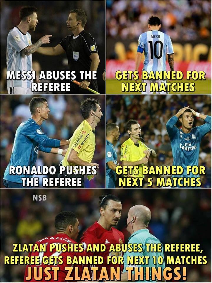 Haha Zlatan Football Jokes Funny Soccer Memes Soccer Jokes