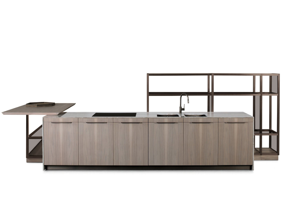Wooden kitchen with island GK.03 By Wooden