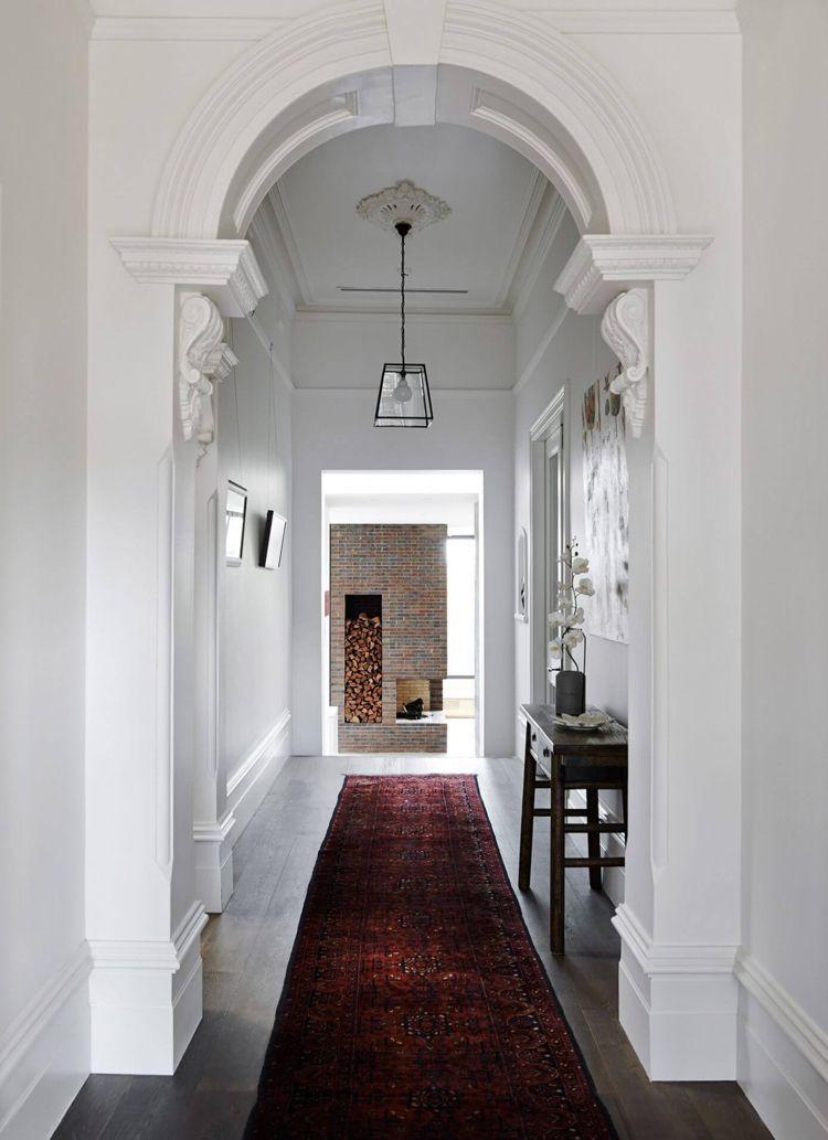 Stuck im viktorianischen Stil für edle Raumatmosphäre Ideen rund - eklektischen stil einfamilienhaus renoviert