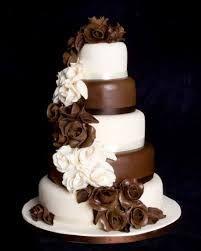 Resultado de imagen para tortas de boda de chocolate