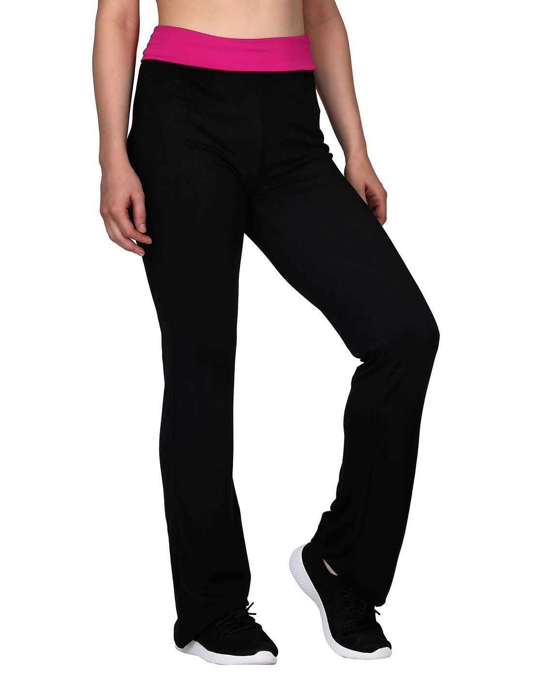 cd5fba68b571f Activewear Tops 185082: Women Color Block Foldover Waist Athletic Yoga  Flare Leg Pants Stretch Leggings -> BUY IT NOW ONLY: $15.99 on #eBay  #activewear ...