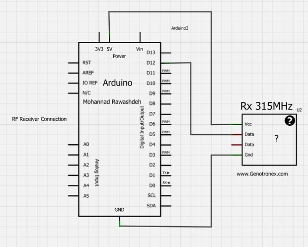 rf 315  433 mhz transmitter