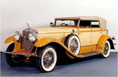 1931 Isotta Fraschini Tipo 8A Derham Convertible Sedan - (Isotta-Fraschini, Milan, Italy 1900-1949)