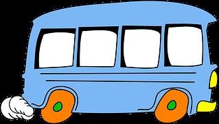Autobus Kresleny Film Rychlost Malby Pinterest Thanksgiving