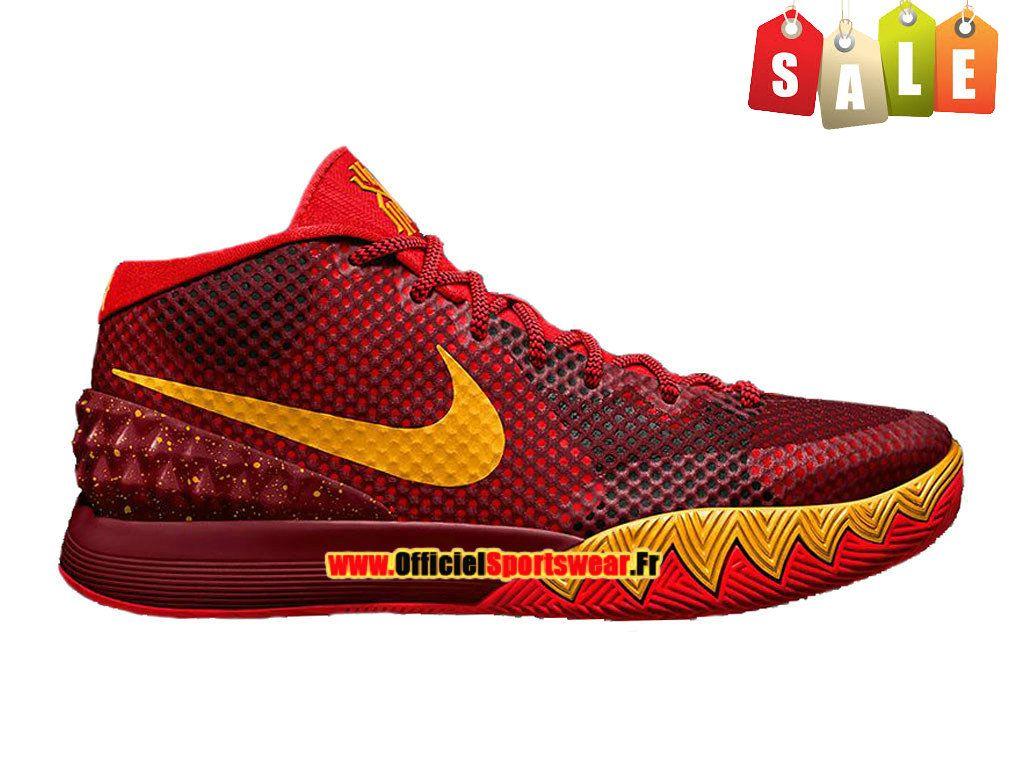 Nike Kyrie 1 iD - Chaussure de Basket-ball Pas Cher Pour Homme Rouge/Orange