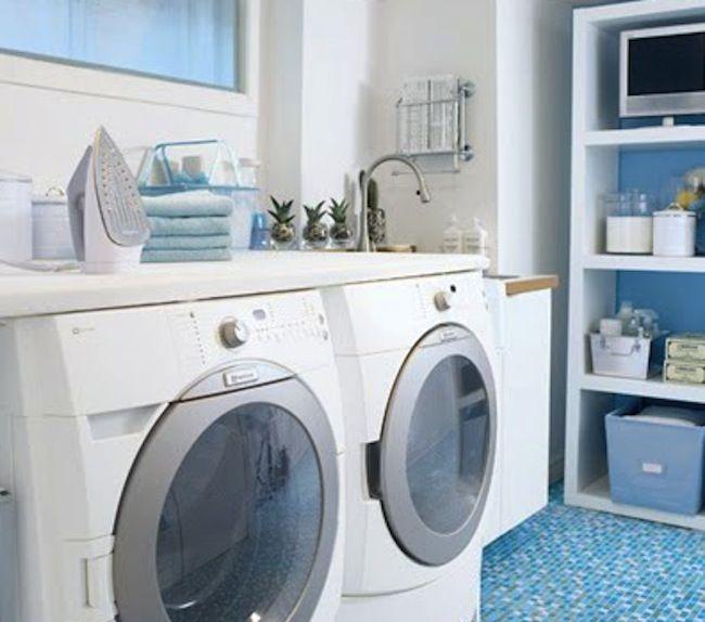 DIY Laundry Room Storage