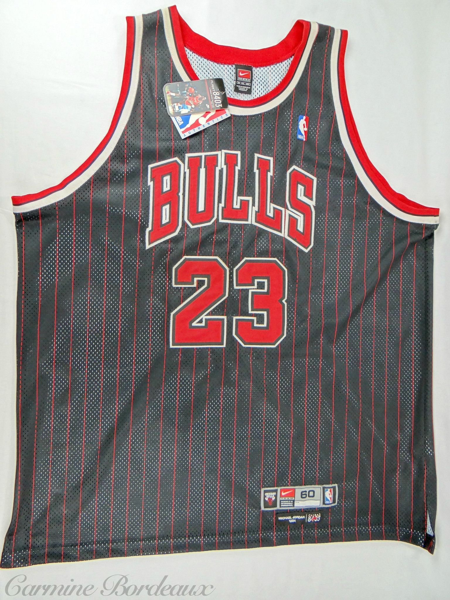 promo code 2b6b8 65383 Nike Michael Jordan Flight 8403 95-96 Chicago Bull Alternate ...