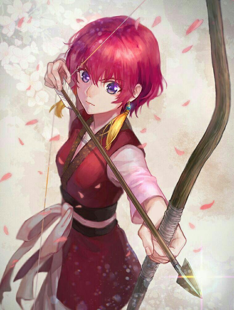 Mujeres de pelo rojo anime