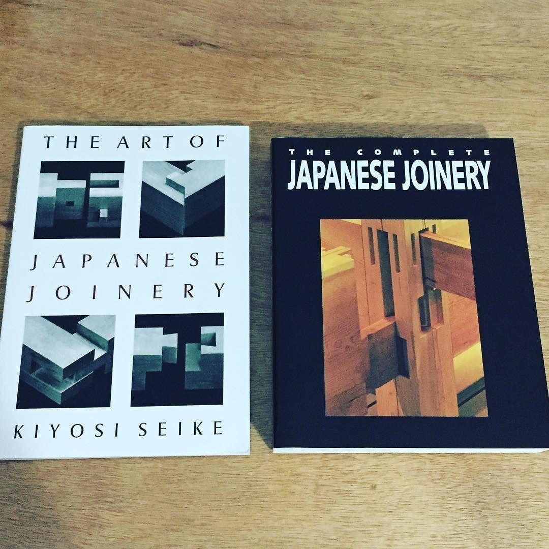 Depois de 2 meses de espera meus filhos chegaram. Acabo de entrar na lista rara das pessoas que têm esses livros  #Wood #woodwork #japanese #joinery de galaso_