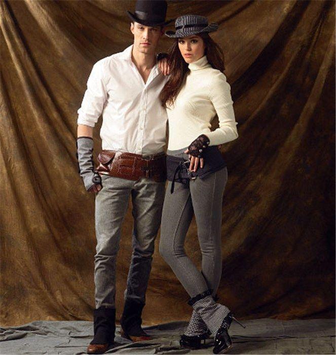 Patron de guêtres, mitaines, chapeaux et ceintures - McCall's 6975 - Rascol