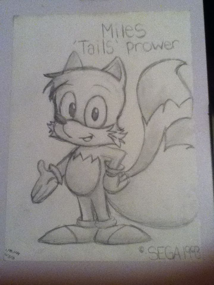 Miles Tails Prower 1993  The Adventures of Sonic the Hedgehog