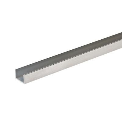 Everbilt 3 8 In W X 1 2 In H X 48 In L X 1 16 In Thick Aluminum Trim Channel In 2020 Door Frame Aluminum Aluminum Cans
