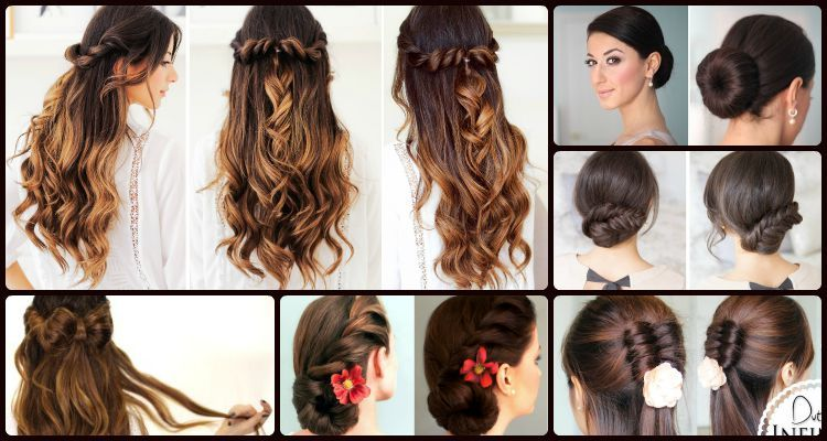 6 Elegant And Easy Updo And Half Updo Hairstyles That Can Never Go