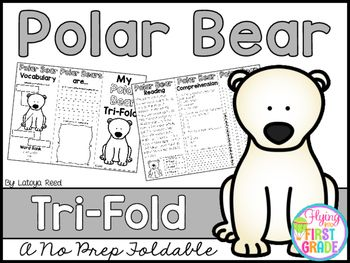 Polar BearsCLICK BELOW TO CHECK OUT MY GROWING BUNDLE OF TRIFOLDS.  THERE ARE OVER 90 TOPICS!CHECK OUT THE MONEY SAVING GROWING BUNDLECLICK BELOW TO CHECK OUT OTHER TRI-FOLDSNEW YEARS TRI-FOLDPENGUINS TRI-FOLDTri-Folds Can Be Used For Literacy Centers Social Studies Mini Lesson Small Groups Homework Partner Work Research  Individual Work Group Work Tri-Fold Skills Included Vocabulary Writing Reading Passage Comprehension Fluency Art