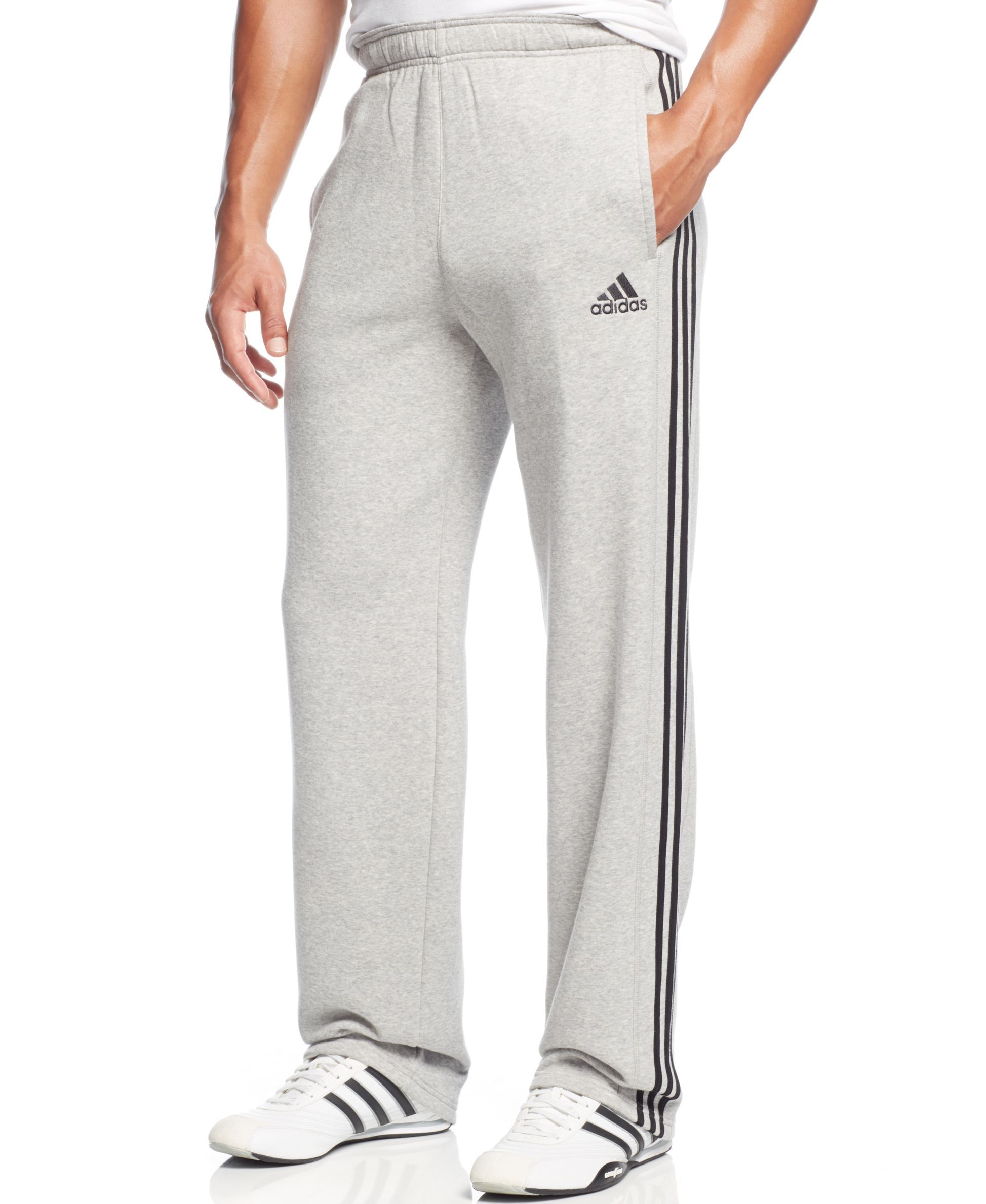 4e31acf23ef8fc adidas Essential Cotton Fleece Training Pants Trainingshosen