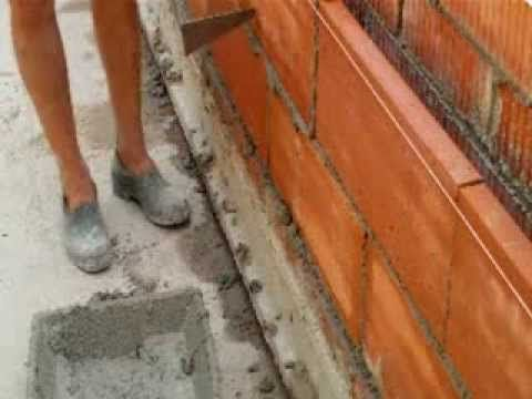 C mo forrar con madera vigas de hormig n video n 61 - Tipos de ladrillos huecos ...