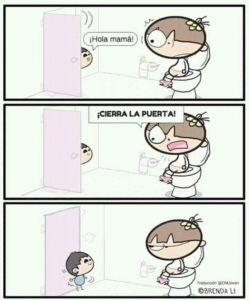 Mama En El Bano Memes Divertidos Imagenes Graciosas
