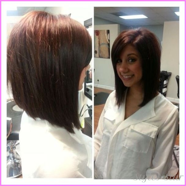 Awesome Medium Length Angled Bob Hairstyles Hair Styles Angled Bob Hairstyles Medium Length Hair Styles