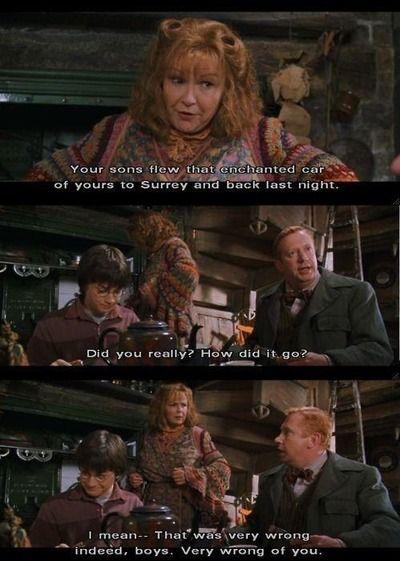 Lol Mr. weasley!