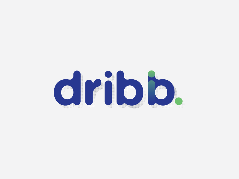 Dribb Logo Communication Branding Brochure Et Identity