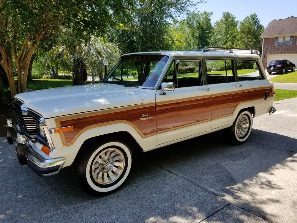 Grand Wagoneer Redone With Images Jeep Wrangler For Sale Used Jeep Wrangler Auto Body Shop
