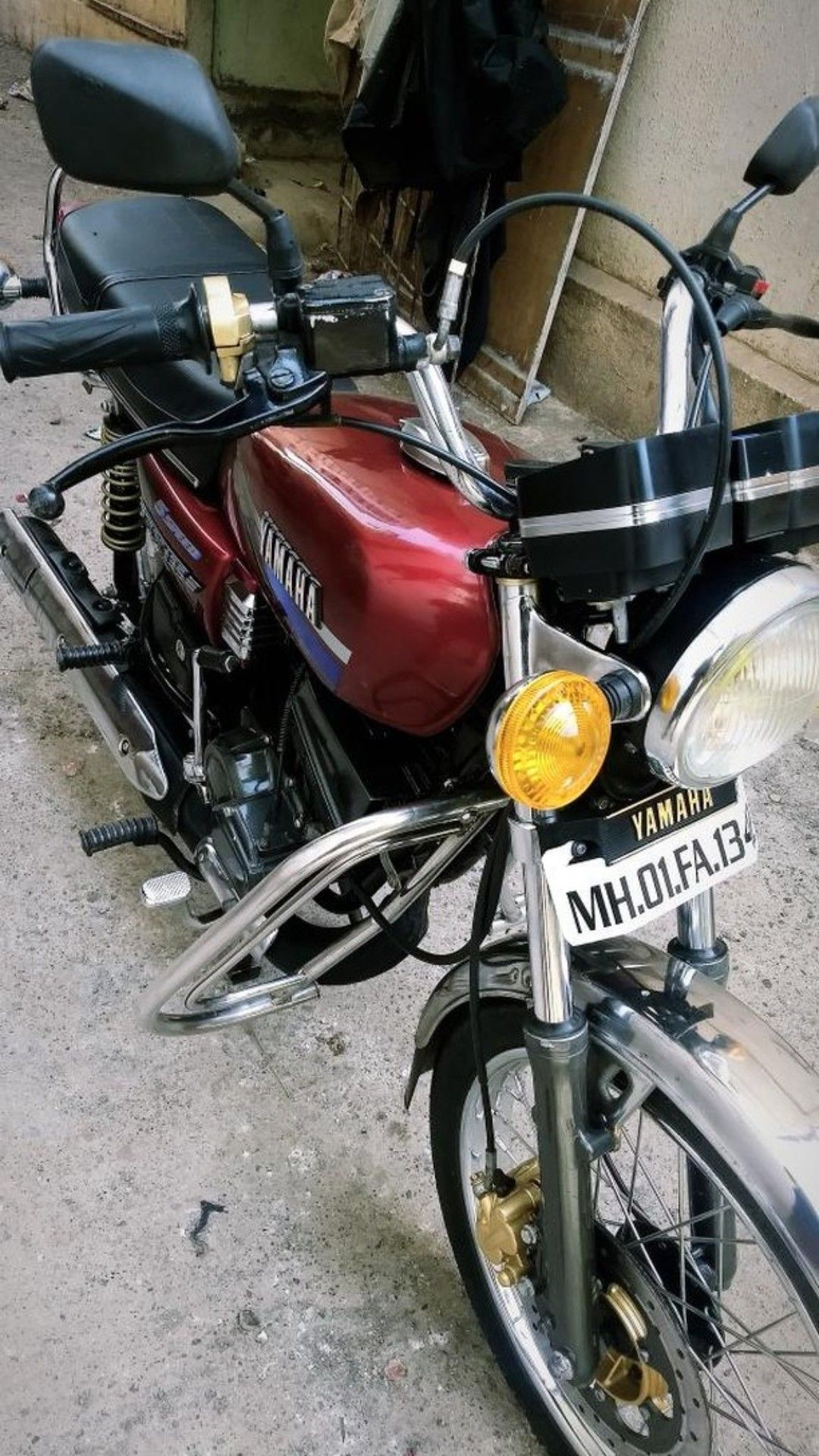 Yamaha Rx 135 5 Speed Stock Restored Yes Yamaha With Images