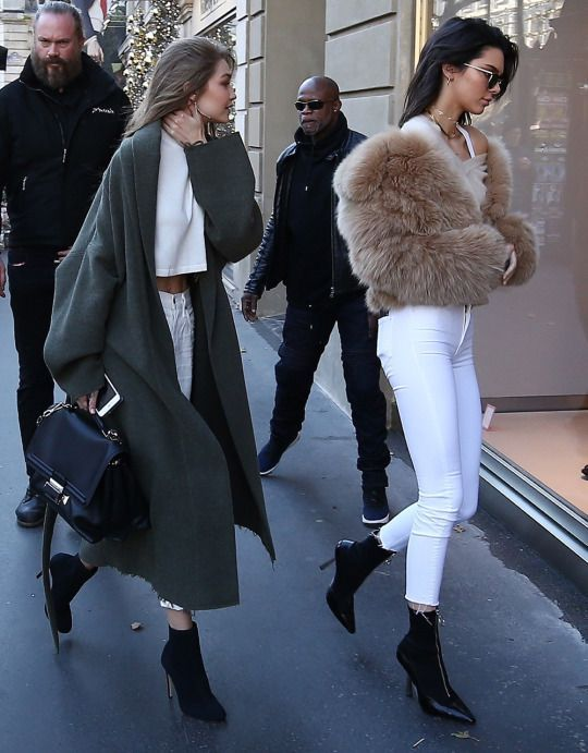 Gigi u0026 Kendall #ootd | Fashion | Pinterest | Ootd Kendall jenner outfits and Street style 2017