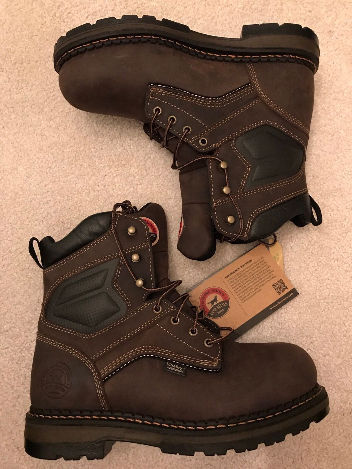 1909ec126e1 Details about Red Wing Irish Setter Men's Ramsey Alluminum Safety ...