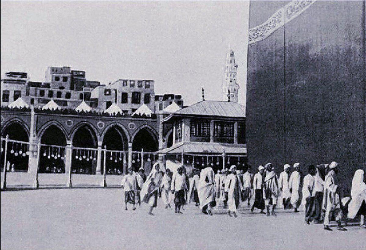صور قديمة من الحرمين On Twitter Mosque Architecture History Of Islam Mecca Kaaba
