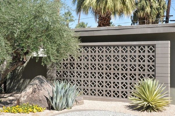 decorative concrete blocks for garden walls images | gardening