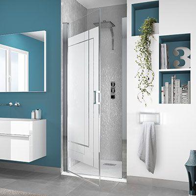 paroi de douche kinedo smart sans seuil espace aubade. Black Bedroom Furniture Sets. Home Design Ideas
