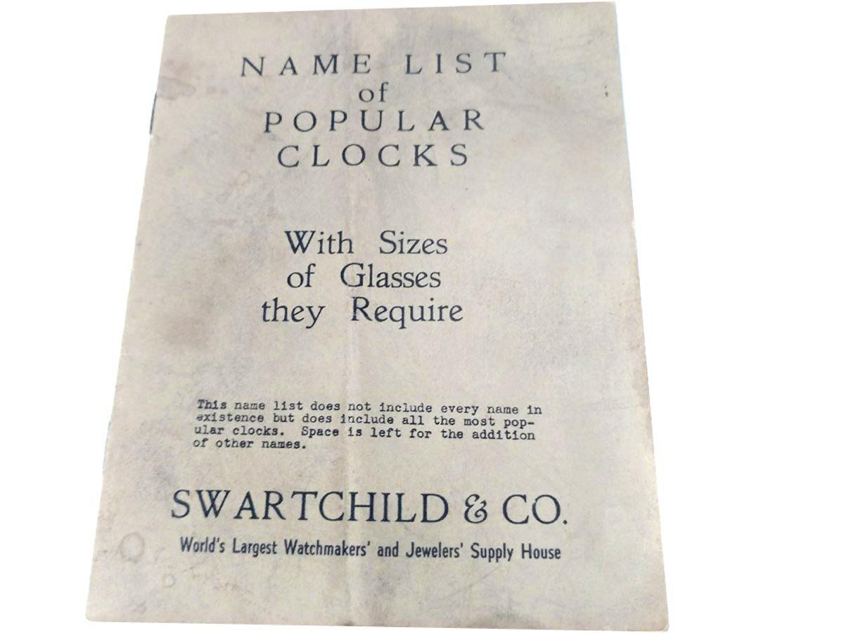 swartchild co name list of popular clocks sizes glass required