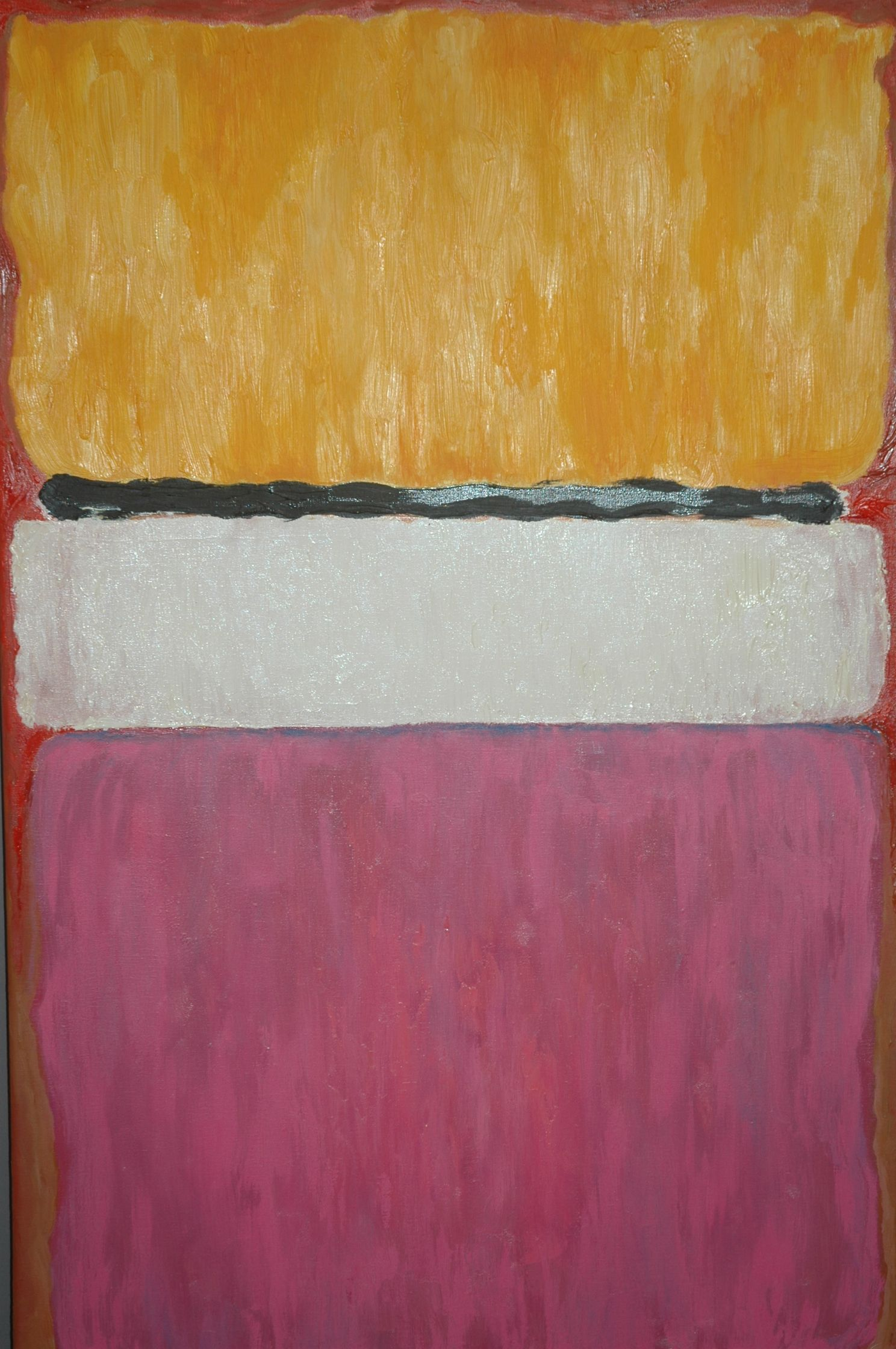 My litle Rothko Abstract Painting Oil on canvas 50 x 70 cm  Year 2007  Ernesto Fernandez
