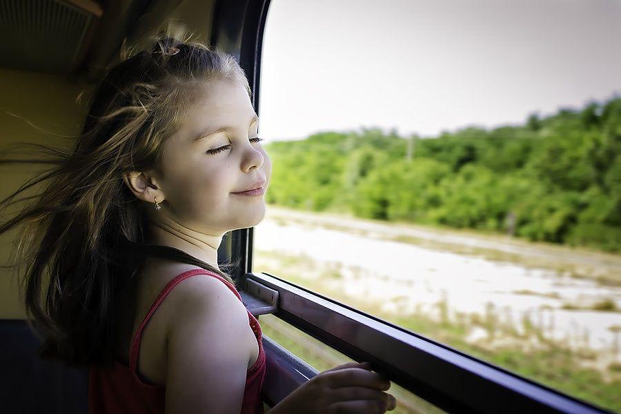 Enjoying the train ride by Tamas Fekete on 500px