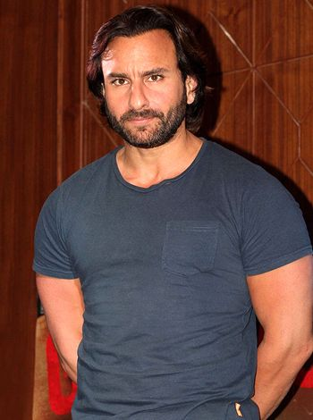 Saif Ali Khan is in a happy state of mind!