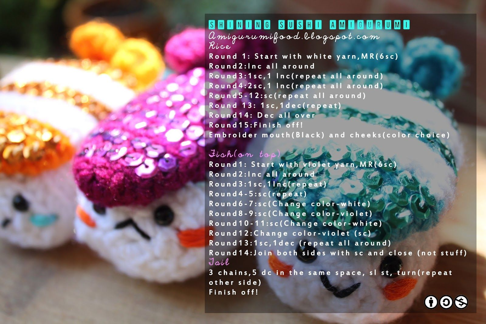 Pattern of an amigurumi do you know who is it its a sushi pattern of an amigurumi do you know who is it its a sushi bankloansurffo Choice Image
